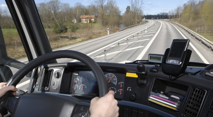 Video monitoring of truck drivers