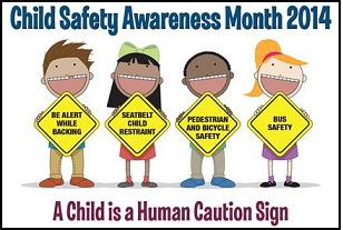 A child is a human caution sign
