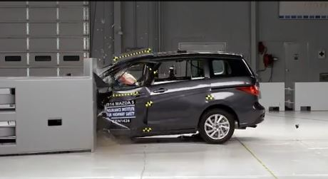 Small Car Crash Test