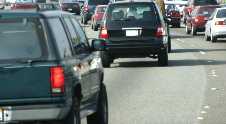 Lane change signal