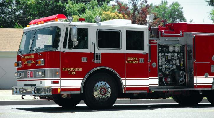 Fire engine decoy