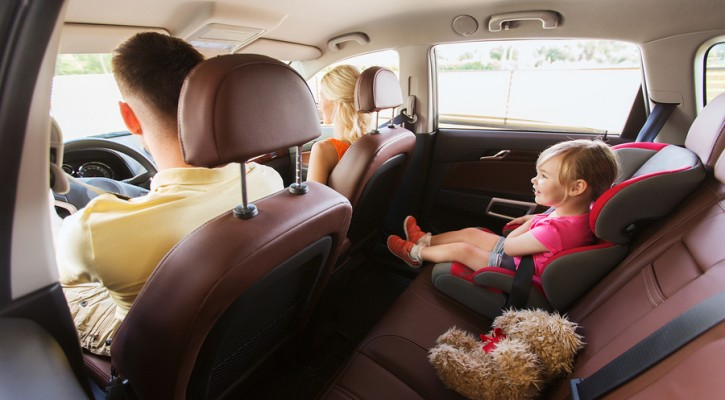 Collapsing front seats pose danger to children in back seats