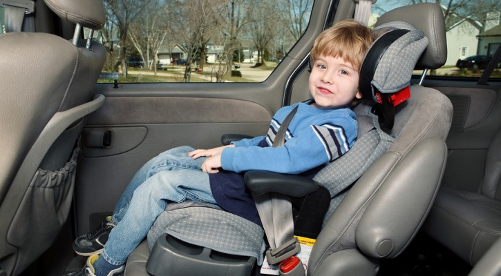 Florida Legislature Proposes Booster Seat Law