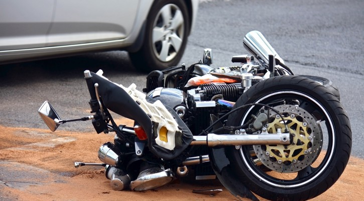 Motorcycle Lane Splitting Can Lead to Accident