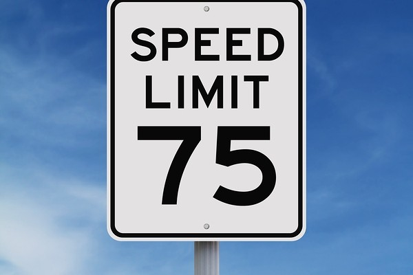 Raise speed limit