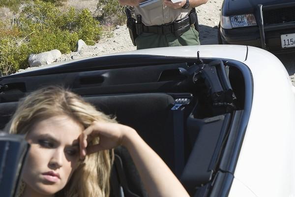 Learner's permit traffic ticket