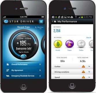 StarDriver DW app