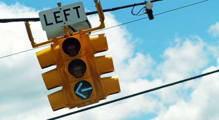 Left Turn Light