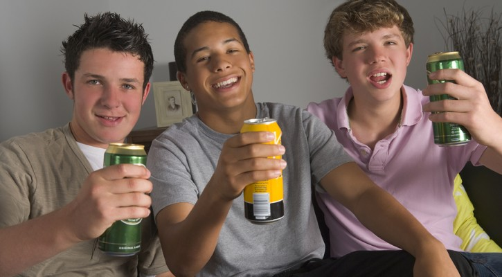 Binge drinking by teens